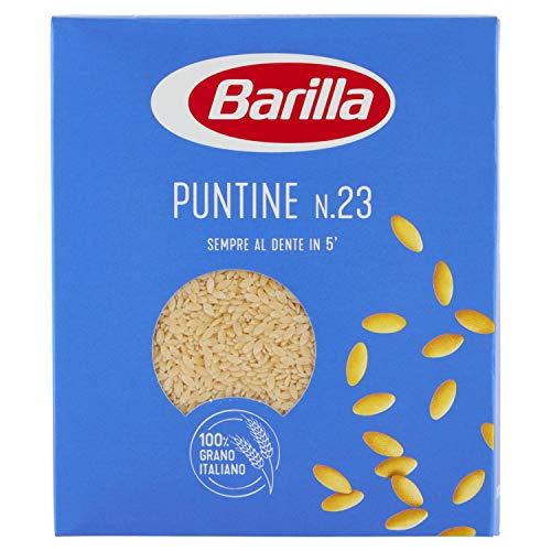 Barilla - Puntine, Pasta di Semola di Grano Duro n 23 - 6 pezzi da 500 g [3 kg]