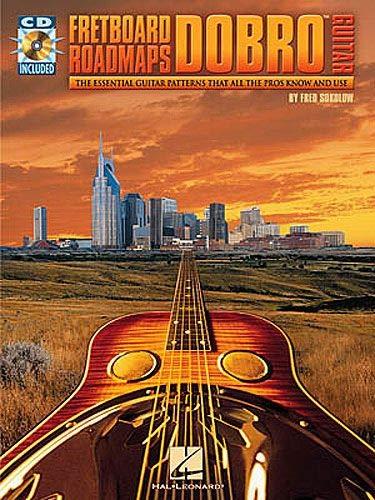 SOKOLOW Fred - Fretboard Roadmaps: Dobro Guitar para Guitarra Tab (Inc.CD)