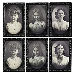 Haunted House Changing Face Picture Frame