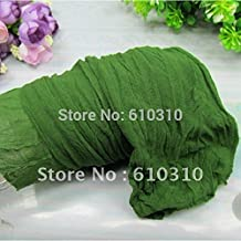 2.5m Military Green Color Nylon Flower Stocking Making for Wedding DIY Heart Accessory 20 Pieces/Lot
