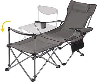 HECHUAN アウトドアチェア キャンプ折りたたみ コンパクト 携帯便利 キャンプ椅子 リクライニングチェア