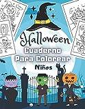 Halloween Cuaderno Para Colorear Niños: Feliz Halloween | Libro para colorear en Halloween para...