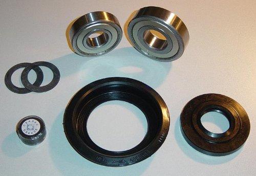 Blaufaust Trommellager Kugellager Reparatursatz für Miele Waschmaschine Novotronic W820 W914 W922 6305 ZZ 6306 ZZ Wellendichtung Simmering Tellerfedern