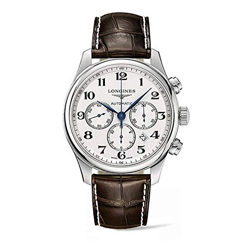 Longines Master Collection L28594783 - Reloj cronógrafo para Hombre (44 mm)