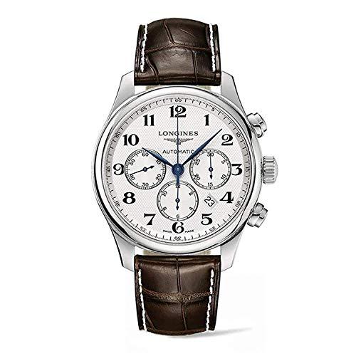 Longines Master Collection L28594783 - Reloj cronógrafo para Hombre (44 mm)