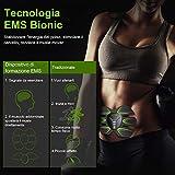 Zoom IMG-1 hoposo elettrostimolatore per addominali muscolare