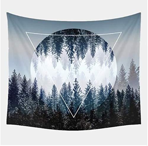 SoulSpaze Tapiz de Pared con diseño de Cielo Nocturno, Colgar en la Pared, diseño de Bosque Estrellado, Talla B