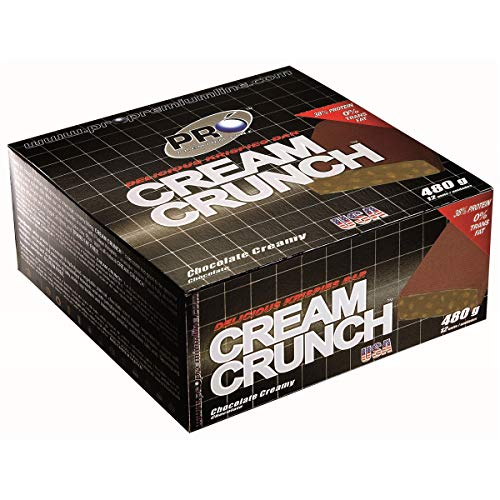 Cream Crunch Bar (cx c/ 12 barras) - Probiótica Pró Premium