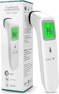 KALAOK Termometer för vuxna och barn, icke-touch-infraröd termometer med omedelbar noggrann läsning och feberlarm, minnesp...