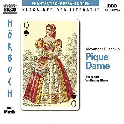 Pique Dame audiobook cover art