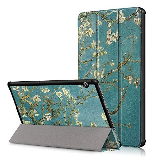 KATUMO Cover per Huawei Mediapad T5 10.1 2018 Cover Libro Tab T5 10.1 Custodia Protettiva Slim Stand Cover per Huawei Tablet T5 10 Book Cover