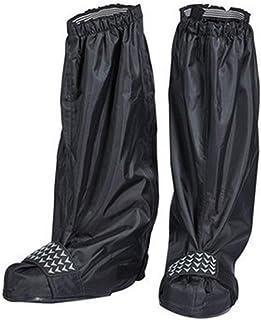 防水靴カバー モトクロス乗馬防水靴カバー男性と女性雨の日防水厚い耐摩耗性滑り止めレインブーツの靴カバー雨雪