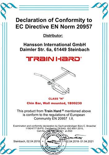 TrainHard Boxsack Wandhalterung mit Klimmzugstange - 4