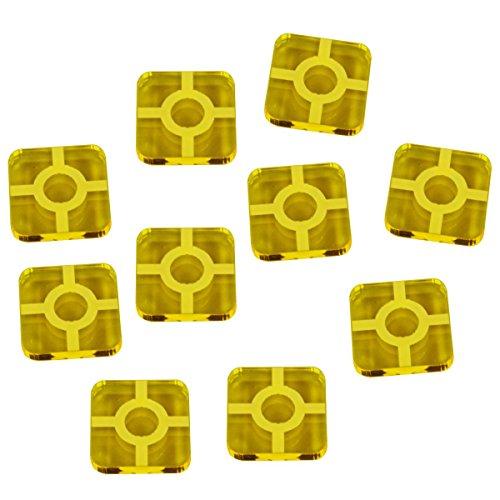 LITKO SW: Destiny, Resource Tokens, Transparent Yellow (10)