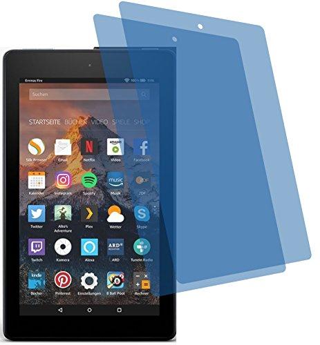 4ProTec I 2x ANTIREFLEX matt Schutzfolie für Amazon Fire 7-Tablet 17,7 cm (7 Zoll) Premium Bildschirmschutzfolie Displayschutzfolie Bildschirm Schutz Glas Schutzhülle Bildschirmschutz Bildschirmfolie Folie Kids Edition