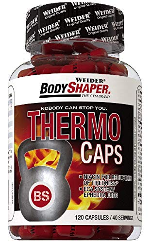 Body Shaper Thermo Caps - 120 Caps