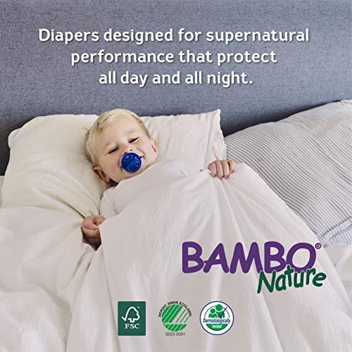 Couche petite taille (3–6kg) couches écologiques lot de 30couches par Bambo...