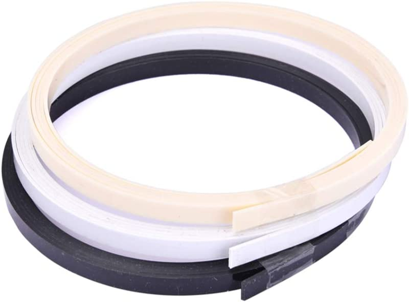 Artibetter 3pcs mart Max 67% OFF Plastic Guitar Binding Bin Strip Purfling
