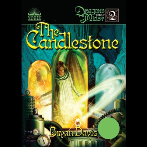 The Candlestone audiobook cover art