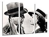 Poster Fotográfico Historia Cine Antiguo Hollywood, Humphrey Bogart, Ingrid Bergman Tamaño total: 97 x 62 cm XXL