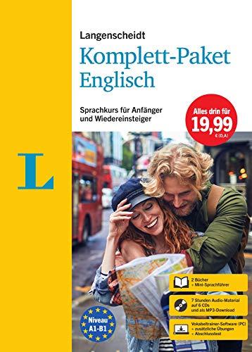 Langenscheidt Komplett-Paket Englisch: Sprachkurs mit 2 Büchern, 6 Audio-CDs, MP3-Download,...