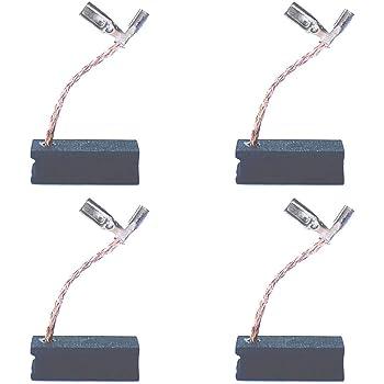 4 PCS Carbon Brush Compatible for Dewalt DWP611 Porter Cable 450 Router, Dewalt A27343-4 Motor Replacement Part