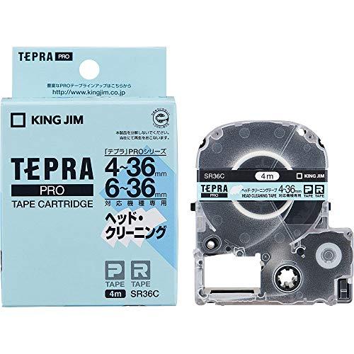 キングジム テプラPRO ヘッドクリーニングテープ 36mm SR36C