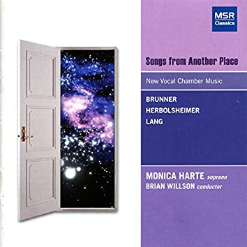 Songs from Another Place - New Vocal Chamber Music