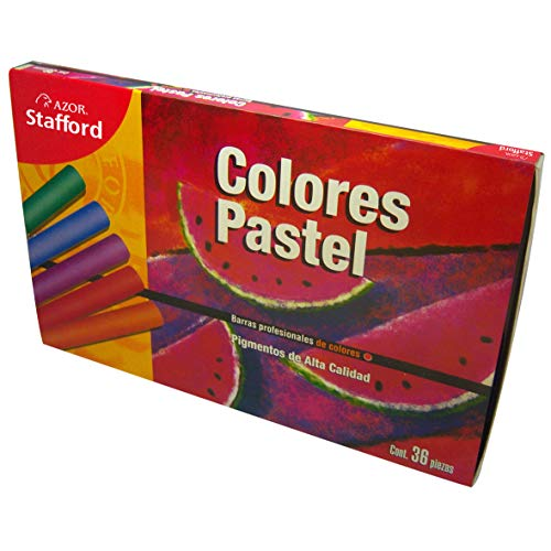 AZOR 309.DAD0502 Colores Pastel, 36 Piezas, Colores surtidos