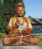 Super schöner 40 cm BUDDHA Meditation HOLZ BUDDA Feng Shui BM40