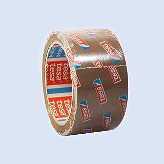 36 ROLLEN - TESA Paketband Braun - leise abrollend - 50 mm breit - 66 m lang
