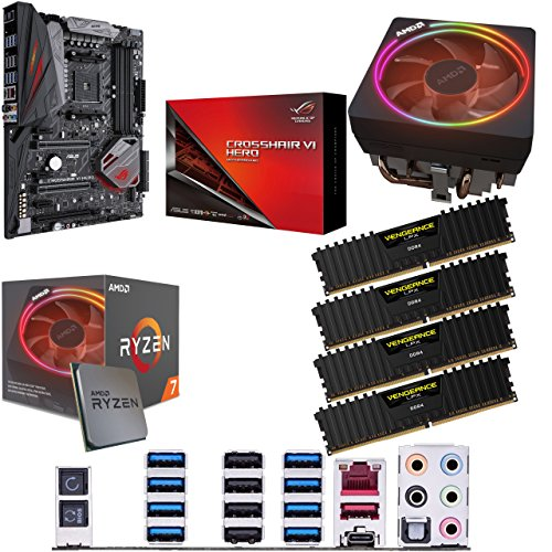 Price comparison product image Components4All AMD Ryzen 7 2700X 3.7GHz (Turbo 4.3GHz) Eight Core Sixteen Thread CPU
