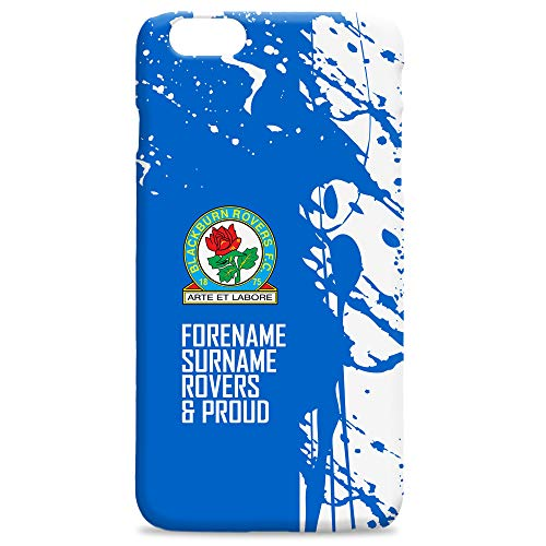Official PERSONALISED Blackburn Rovers Football Proud Hard Back Phone Case Iphone & Samsung Compatible