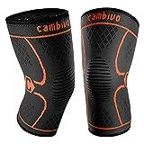 CAMBIVO - Par de rodilleras unisex, medias de...