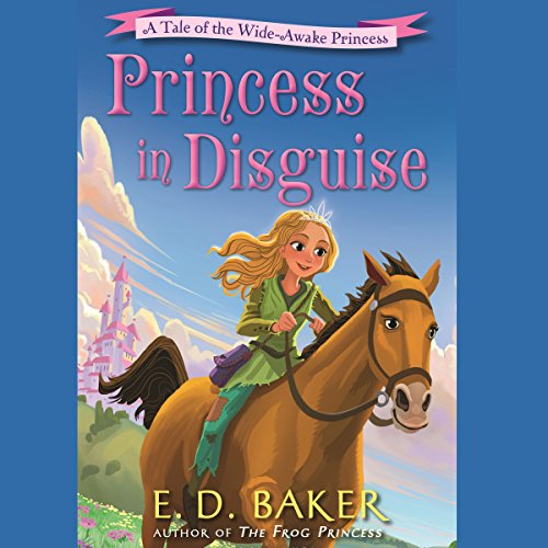 Princess in Disguise audiobook cover art