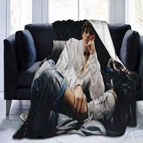 VJSDIUD Charlie Gillespie Decken Decke Micro Flanell Fleece für Kinder Erwachsene Ultra Soft Warmbett Couch Sofa Decke 50 'x 40'