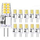 Jpodream Ampoules LED G4 2W 220LM G4 LED 12V 20W Blanc Froid 6000K LED Lamp, Equivalente 20W Halogène Lumière,360° Larges Faisceaux, Pas Dimmable, pour Ceiling Lighting, Kitchen-Lot de 10