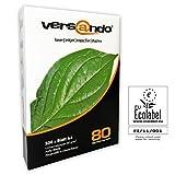 500 Blatt Druck- und Kopierpapier Marke versando 80 High White DIN A4 80g/m² Kopierpapier,...
