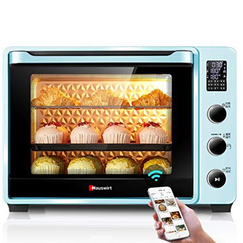 エナメルライナーとスタッブオランダオーブンを使用したレンジトースターオーブン(40L電気オーブンローストリーコンベクションオーブンベーキングブロイルピンク)