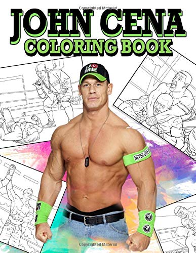 Coloring Page Wwe Kids John Cena - Coloring Home | 500x387