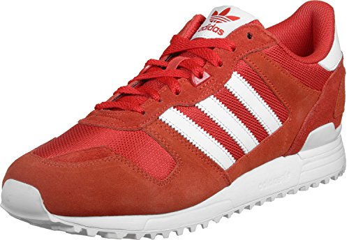 adidas Zx 700, Men's Trainers, Core Red/Footwear White/Energy, 9.5 UK (44 EU)