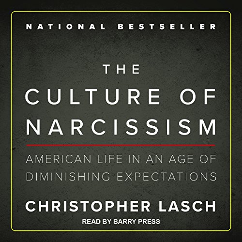 The Culture of Narcissism audiobook cover art