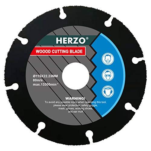HERZO Disco Para Cortar Madera 115mm