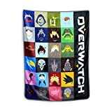 Just Funky Overwatch Heroes Fleece Blanket, 45 X 60 inches