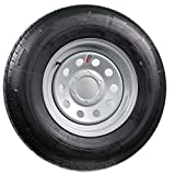 Trailer Tire On Rim ST225/75D15 H78-15 225/75-15 D 6 Lug Wheel Gray Grey Modular
