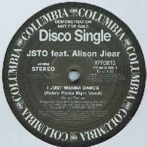 Jsto Feat Alison Jear - I Just Wanna Dance - [12
