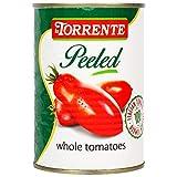 La Torrente - Pelati - Pomodori Interi - Tomate Entero- 100 % Producto Italiano - 400 GR