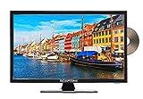 Sceptre E195BD-SRR 19-Inch 720P LED TV, True Black (2017) (Renewed)