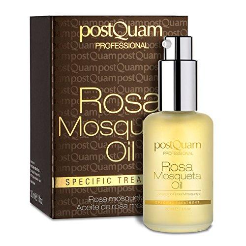 Postquam | WildRosenöl, Versorgt die Haut mit Nährstoffen, Glättet Falten und Mildert Flecken, 30 ml