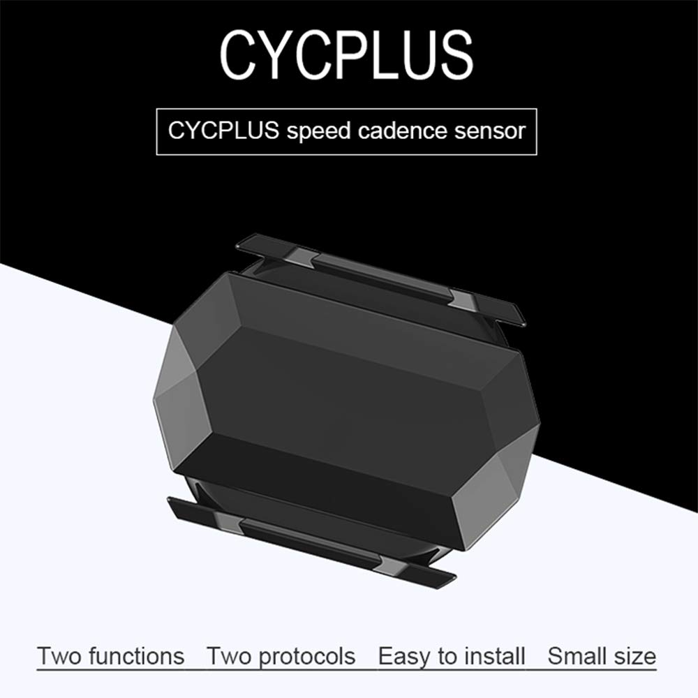 Android Computer L6E0 Bluetooth Bike Speed//Cadence Sensor for iOS 2 in 1 ANT